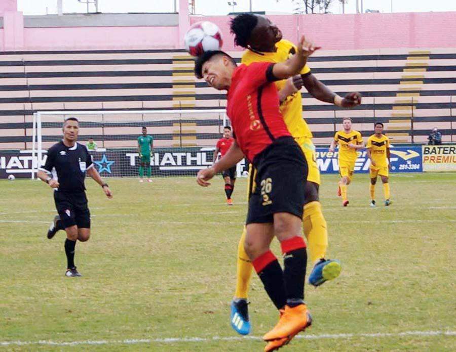 Melgar empató de visita 1-1 con Cantolao