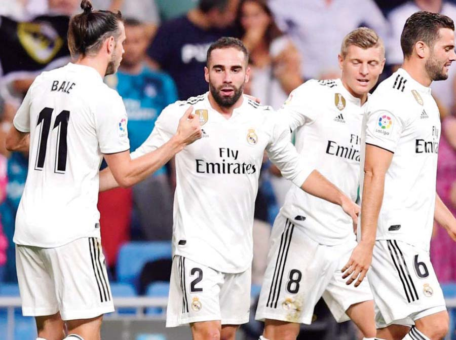 Real Madrid derrotó 2-0 al Getafe