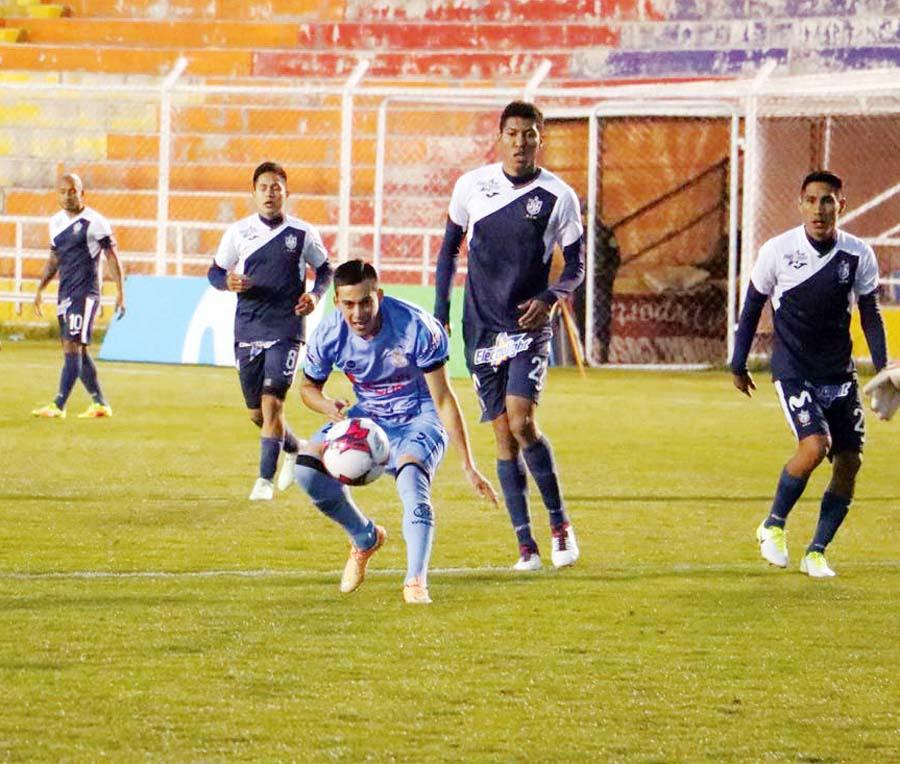 San Martín igualó 3-3 ante Real Garcilaso