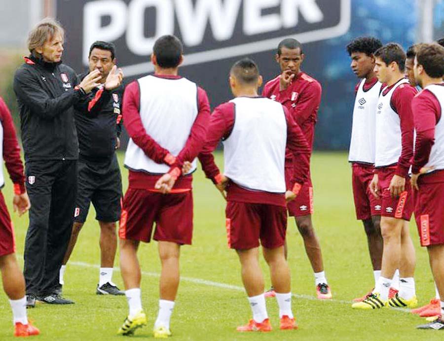 Selección arranca entrenamiento hoy en la Videna