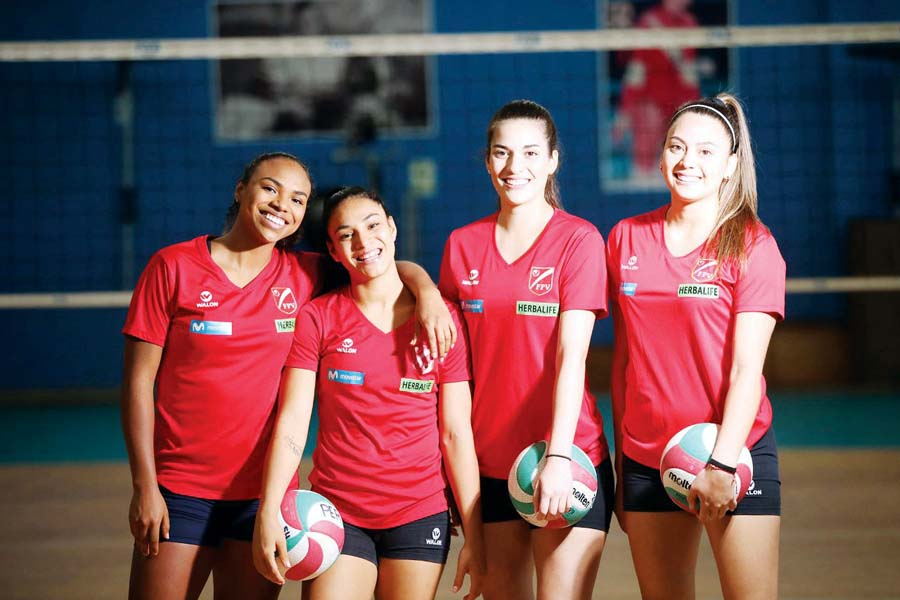 Selección femenina de vóley