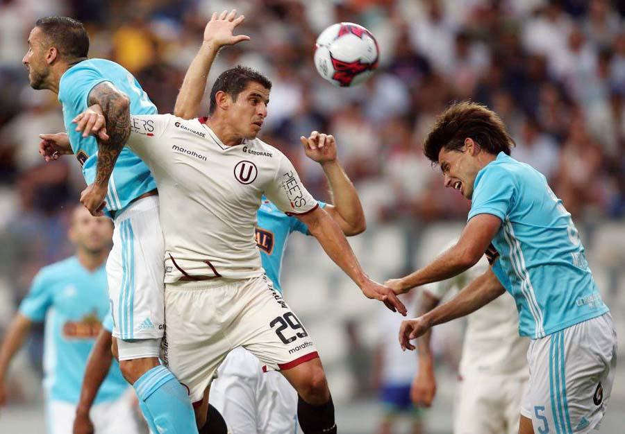 Sporting Cristal vs Universitario de Deportes