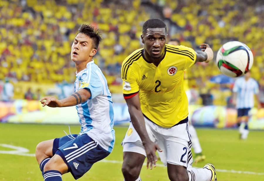 Argentina y Colombia
