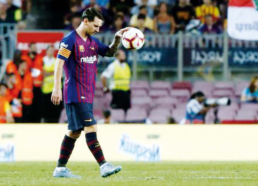 Barcelona se enfrenta al Leganes