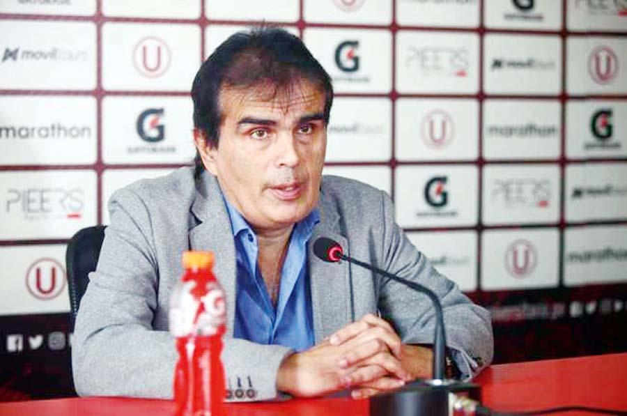 Carlos Univazo, gerente de Comunicaciones de Universitario de Deportes