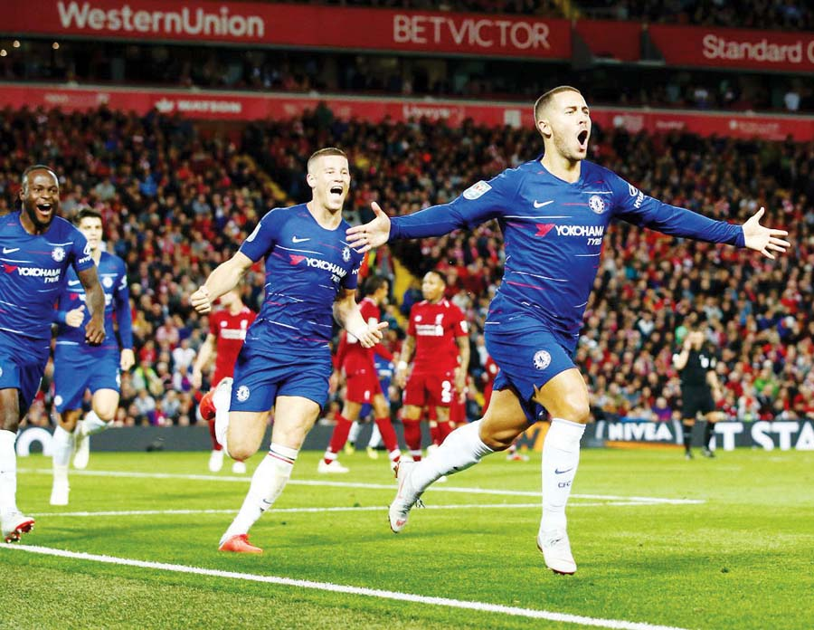 Chelsea venció 2-1 al Liverpool