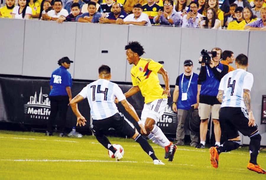 Colombia y Argentina empataron 0-0