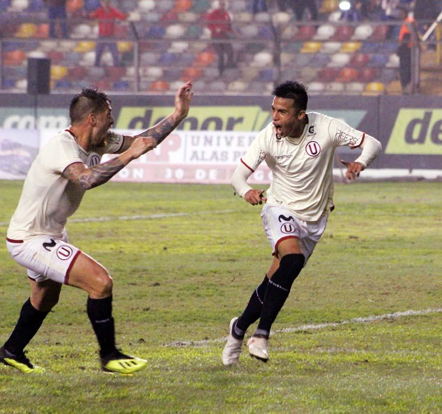 En el minuto final tras asistencia de Denis, Anthony Osorio marcó el tanto del triunfo crema