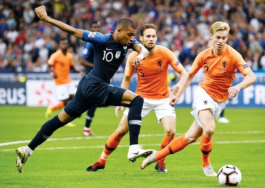 Francia vs Holanda