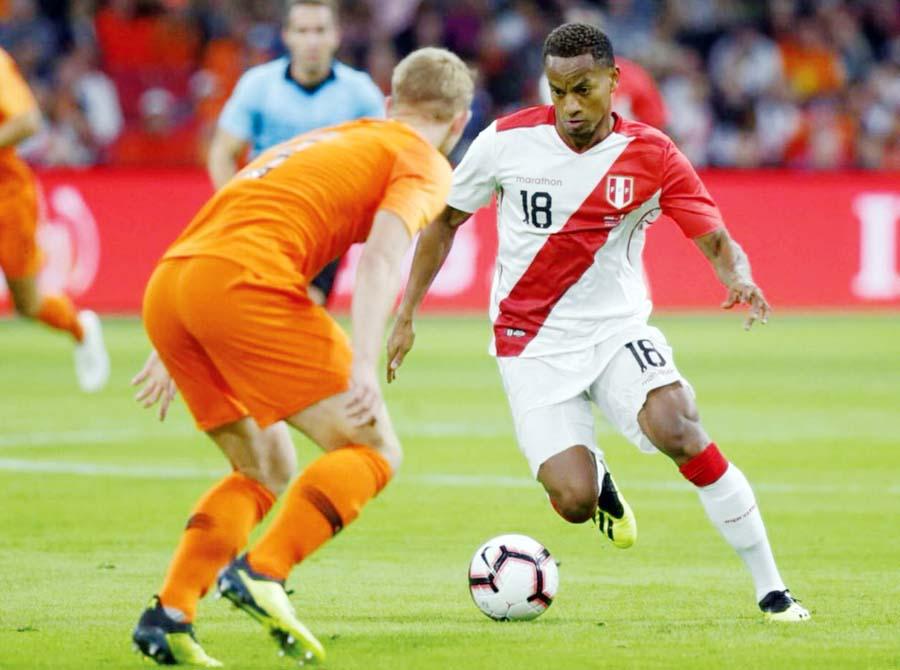 Holanda - Perú