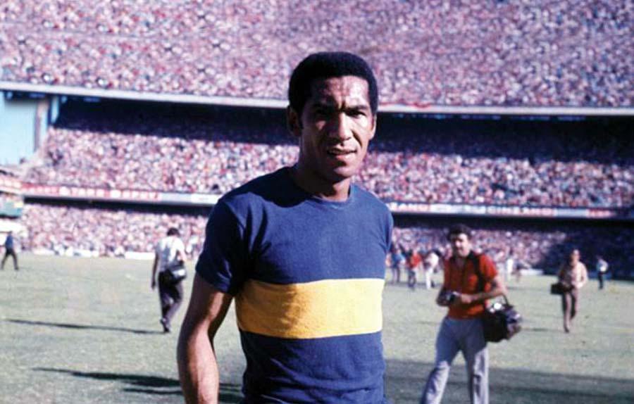 Julio Meléndez Calderón fue ídolo en Boca Juniors