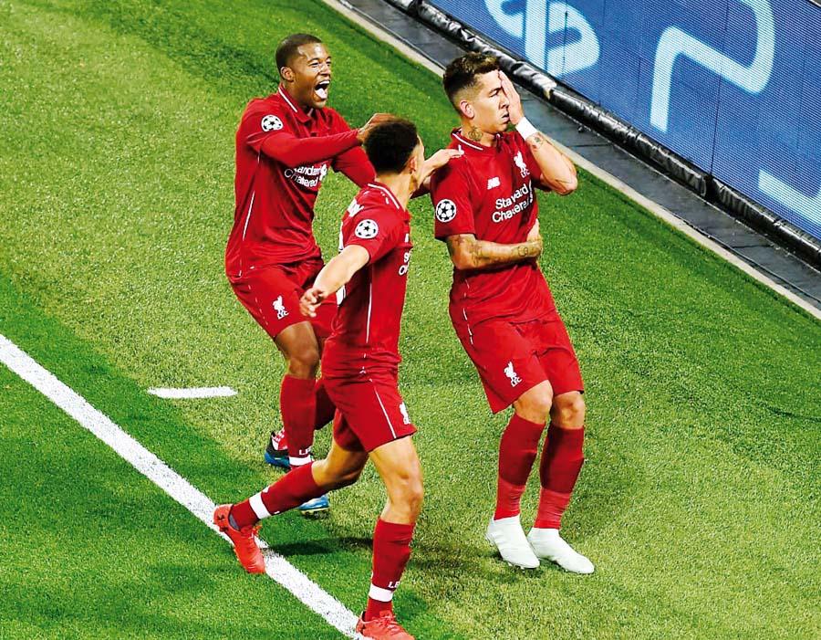 Liverpool se impuso 3-2 al PSG