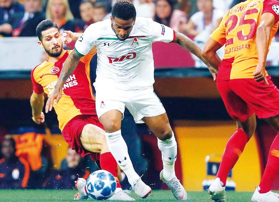 Lokomotiv de Moscú perdió 3-0 ante Galatasaray
