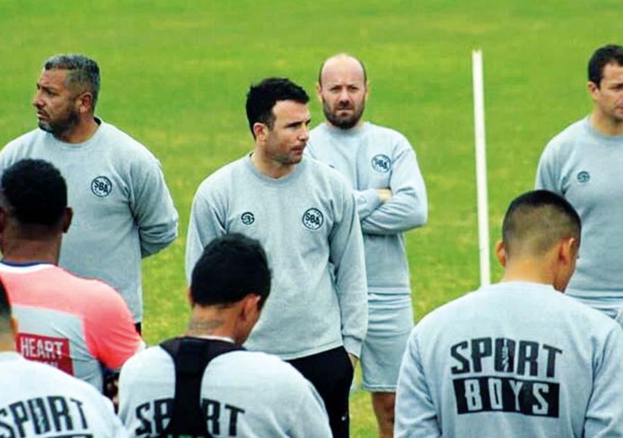 Manuel Fernández, flamante técnico del Sport Boys