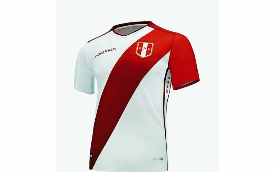 Nueva piel de la selección peruana