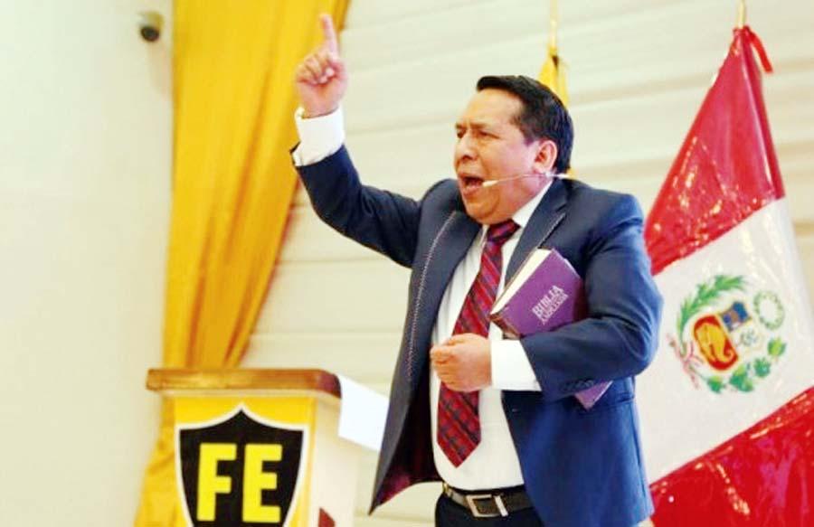 Pastor evangélico Alberto Santana