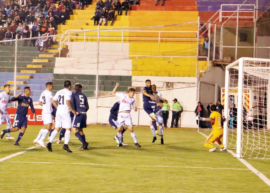 Sporting Cristal empato 2-2 ante Real Garcilaso