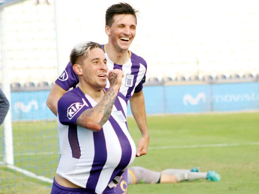Alianza gano 2-0 al Cantolao