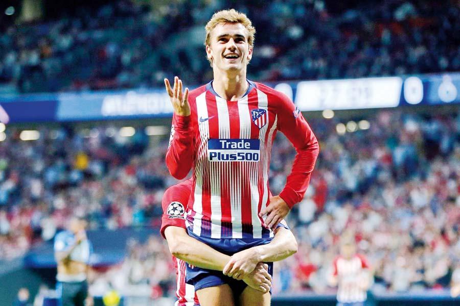 Atlético de Madrid venció 3-1 al Brujas