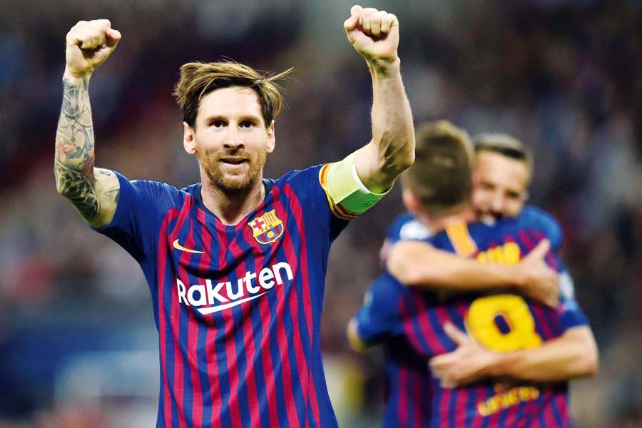 Barcelona derrotó de visita 4-2 al Tottenham