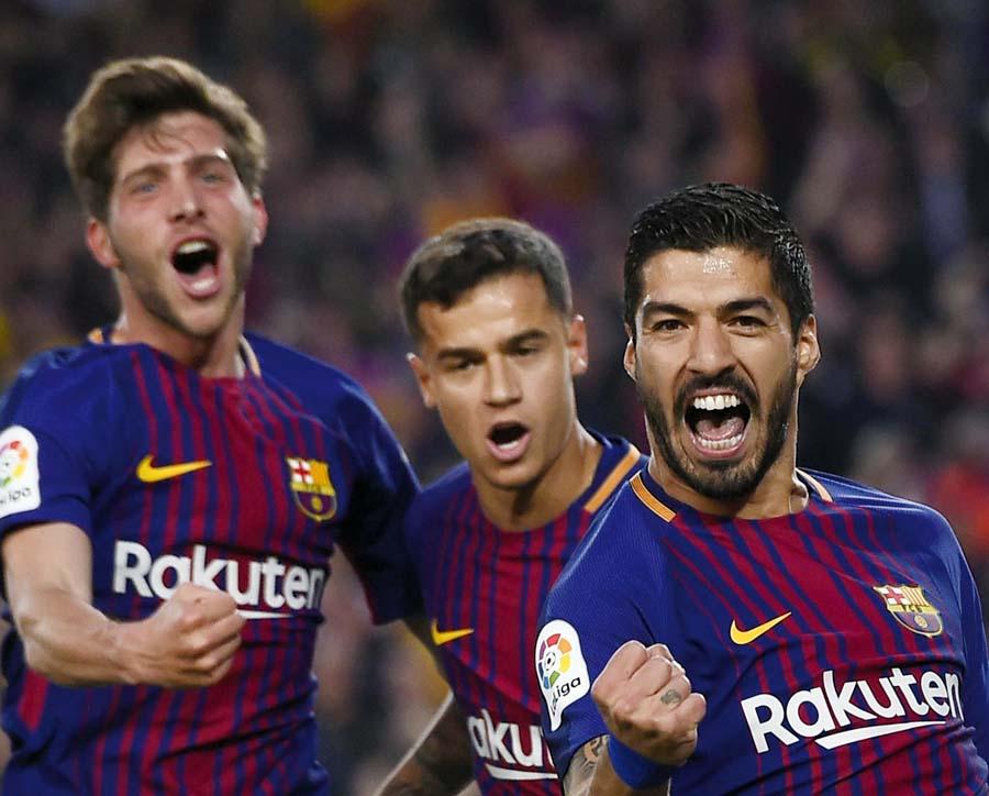 Barcelona enfrenta al Inter