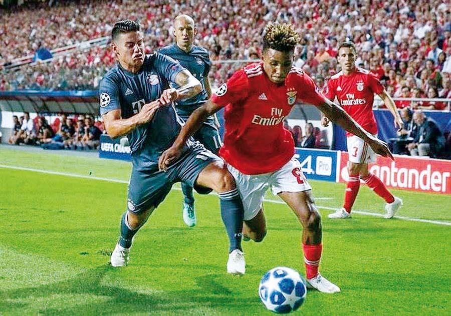 Bayern choca ante el Ajax