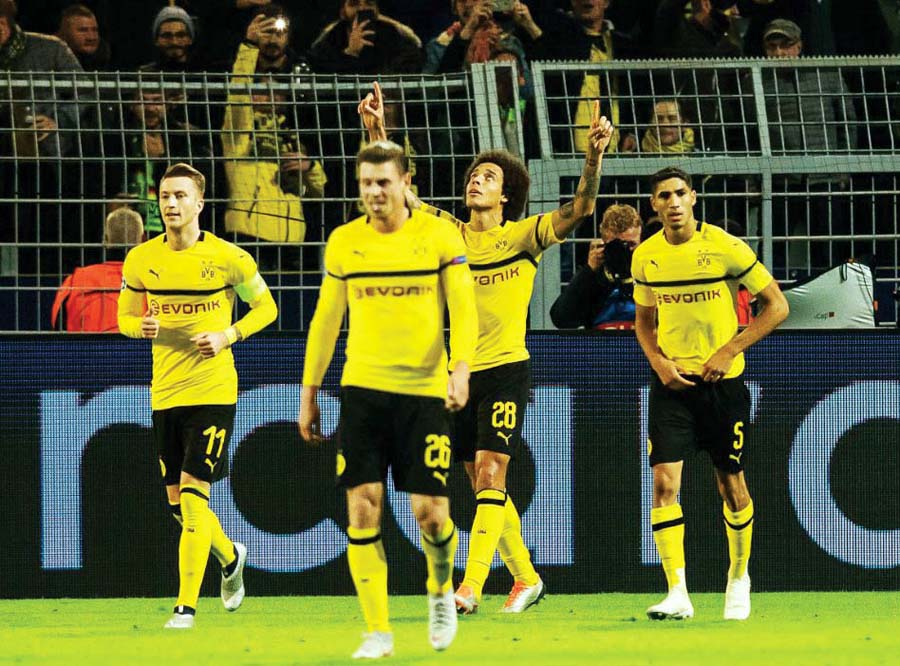 Borussia Dortmund vencio 4-0 al Atlético de Madrid
