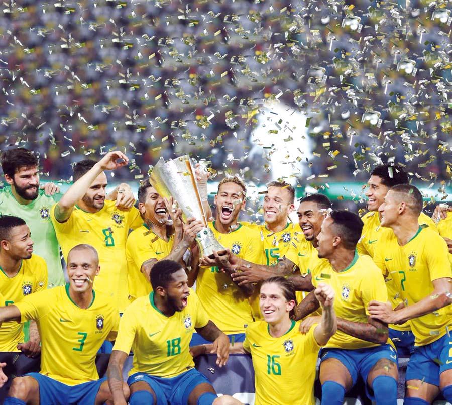 Brasil levantó el trofeo del Superclásico Championship