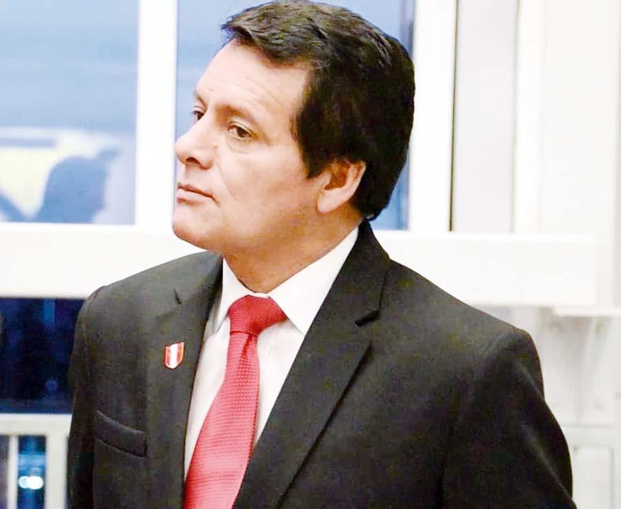 Franklin Chuquizuta, vicepresidente de la FPF