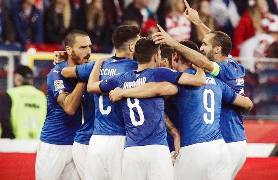 Italia le ganó 1-0 a Polonia