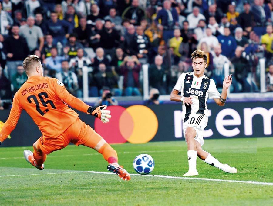 Juventus derrotó 3-0 al Young Boys