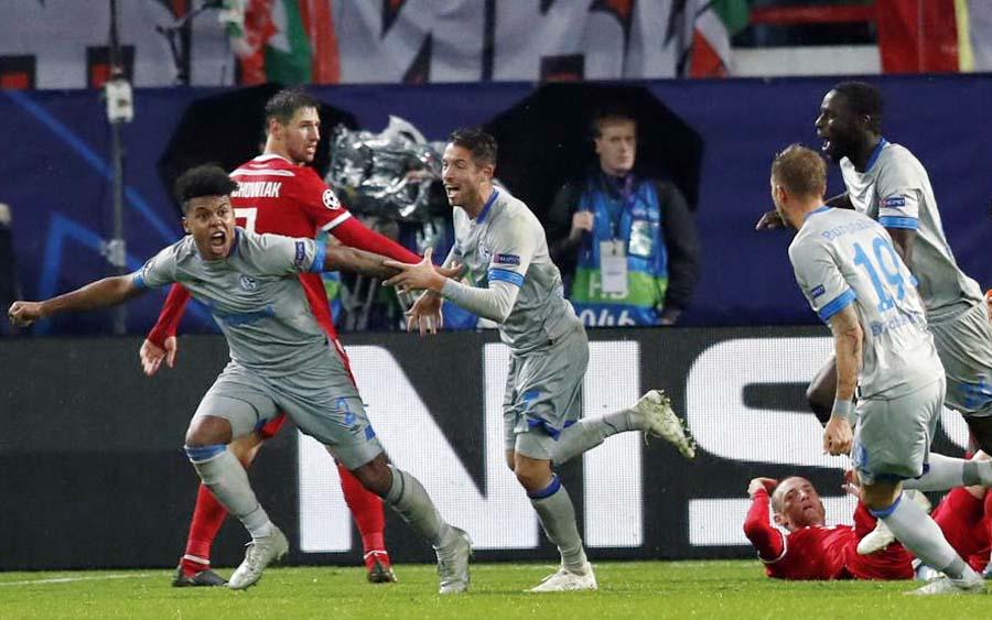 Lokomotiv perdió 1-0 ante el Schalke