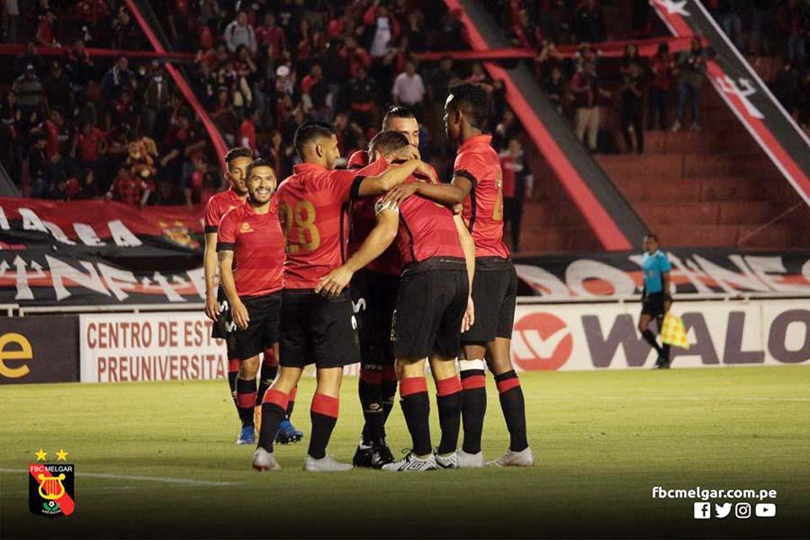 Melgar les ganó 2-0 Sporting Cristal