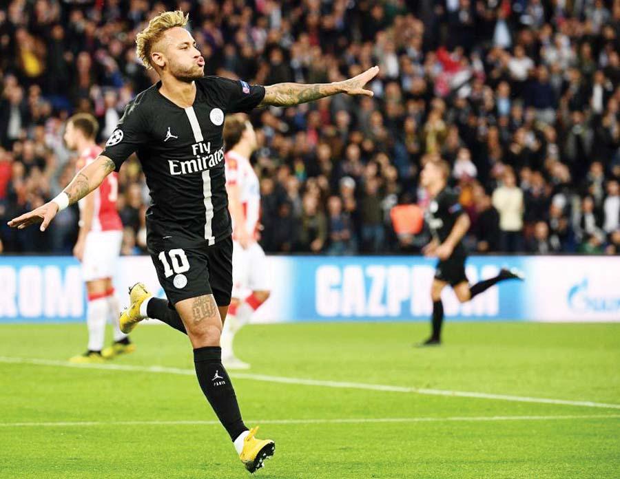 PSG goleó 6-1 al Estrella Roja