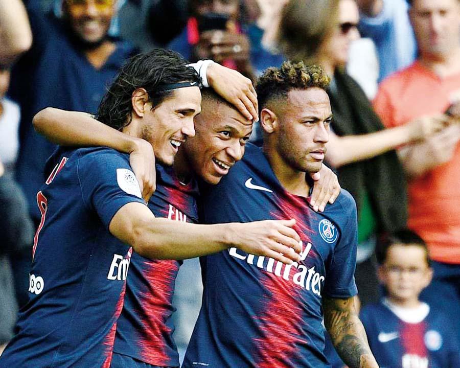 PSG recibe al Estrella Roja