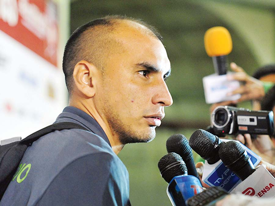 Rainer Torres, técnico de Sport Rosario
