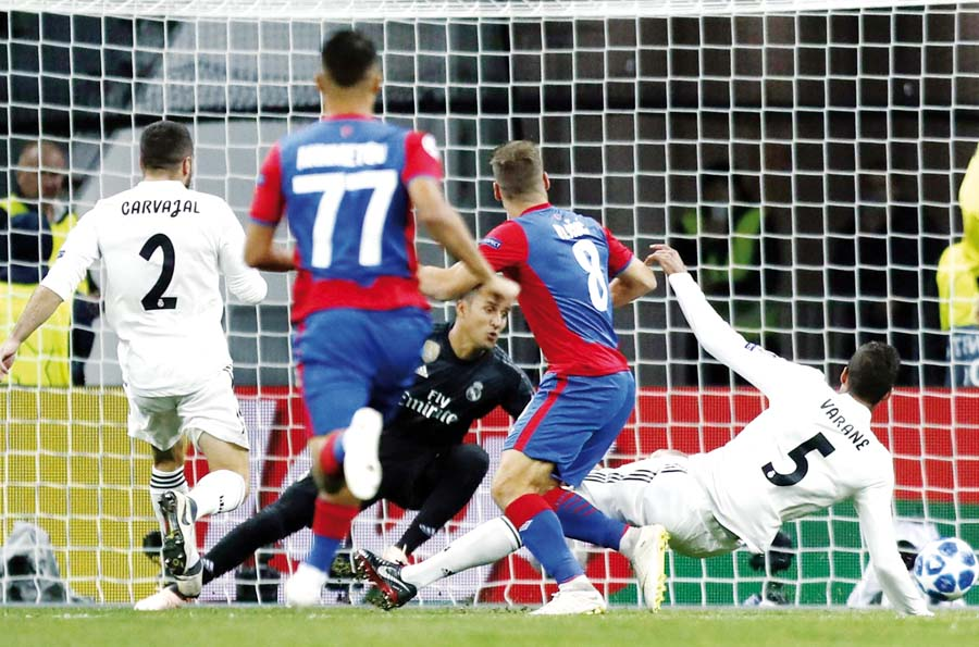 Real Madrid perdió 1-0 ante el CSKA Moscú