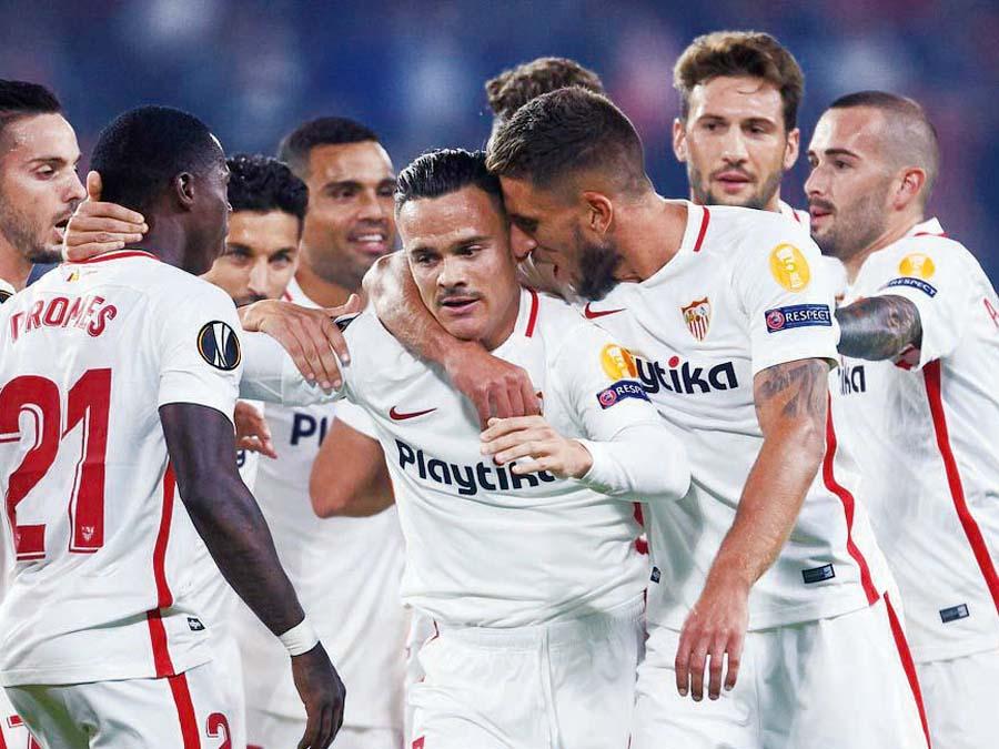 Sevilla aplastó por 6-0 al Akhisarspor