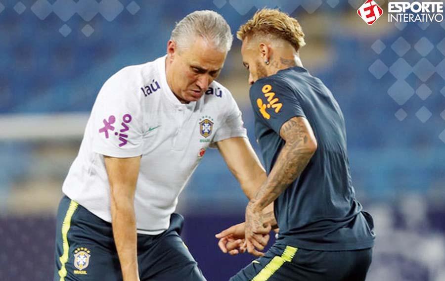 Tite, técnico de la selección brasileña