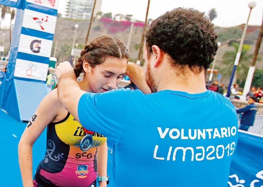 Voluntarios Juegos Lima 2019
