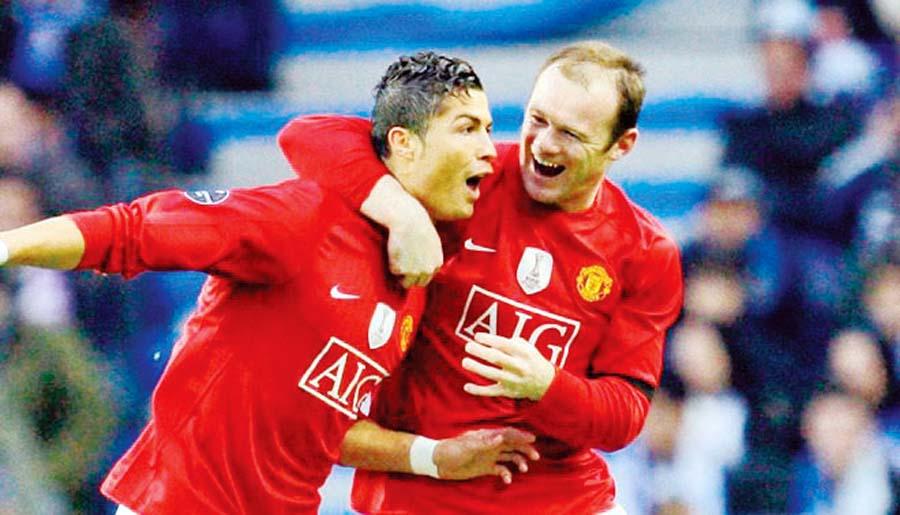 A Cristiano Ronaldo le gustaría jugar al lado de Wayne Rooney