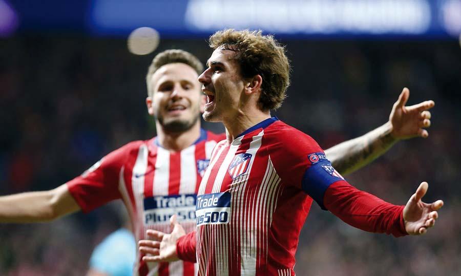 Atlético de Madrid venció 2-0 al Borussia Dortmund
