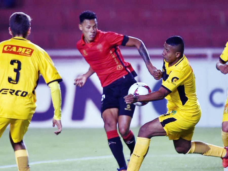 Cantolao le ganó 1-0 a Melgar