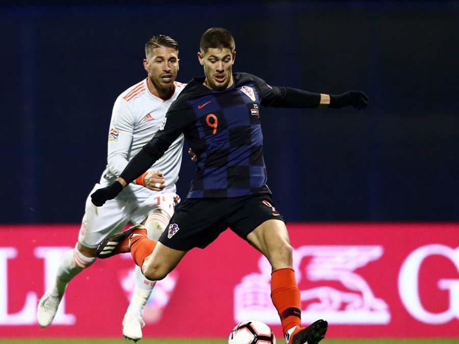 Croacia ganó 3-2 a España