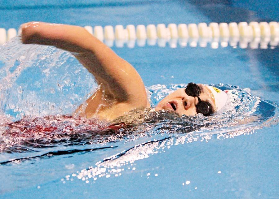 Dunia Felices, para nadadora nacional y Embajadora de los Juegos Lima 2019