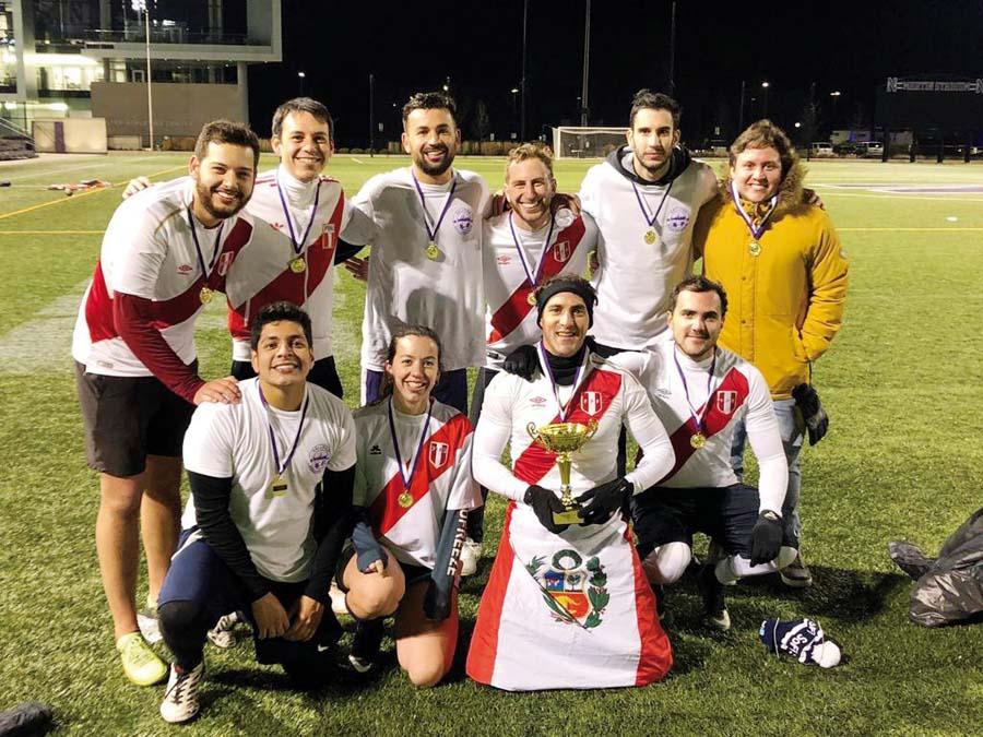 """Estudiantes ganaron """"Copa América"""" en Universidad de Kellog"""