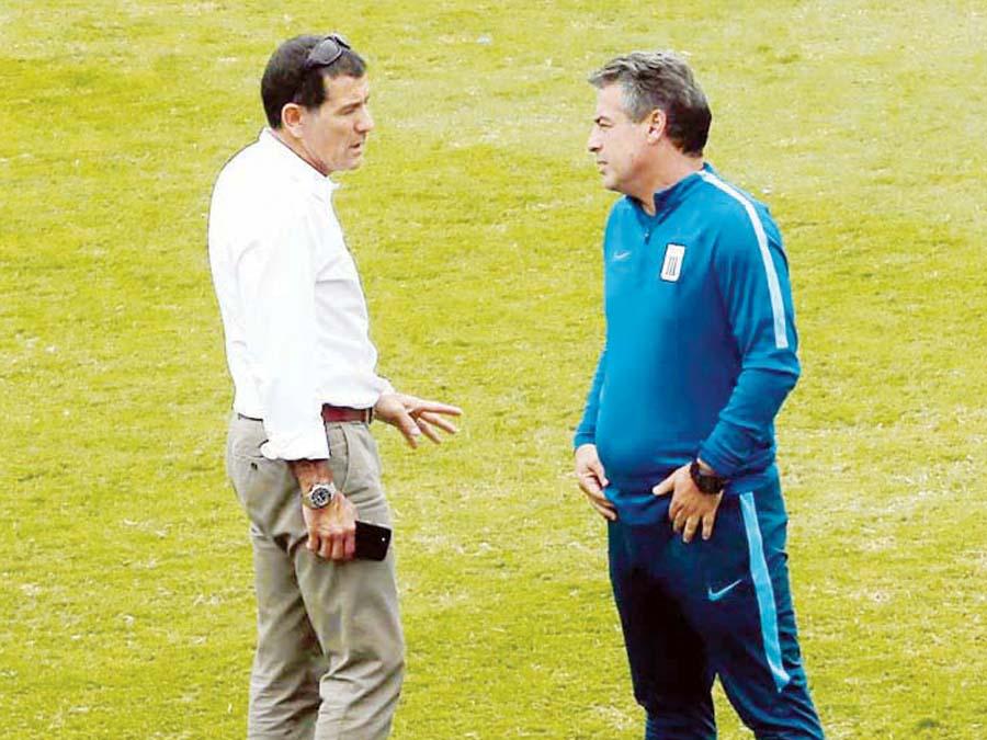 GustavoZevallos, gerente de Alianza Lima, aseveró que se viene trabajando en la continuidad del entrenador Pablo Bengoechea