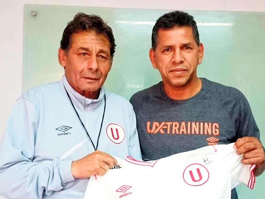 José Luis integró el comando técnico de Chale y es un referente en Universitario