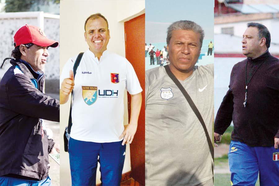 Juan Carlos Bazalar, Ronny Revollar, Martín Dall'orso, Jaime Carrión