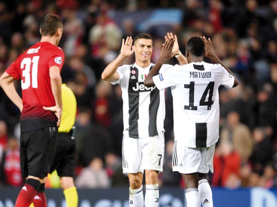 Juventus con Cristiano sale a tumbarse al Manchester United
